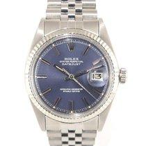 Rolex Datejsut vintage Blue dial white gold bezel