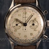 "Gallet Ultrachron ""jim Clark"" Vintage 1940`s Waterproo..."