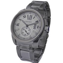 Cartier W7100015 Calibre de Cartier Automatic - Steel on...