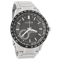 Citizen Eco-Drive Satellite Wave World Time GPS Mens Watch...