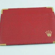 Rolex Mappe  Etui Für Zertifikat Kartenetui Rot