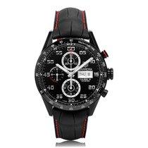 TAG Heuer Carrera Automatic Black Titanium Black Dial Mens...