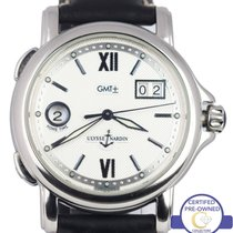 Ulysse Nardin Dual Time GMT Big Date Silver 223-88 Dial 40mm...