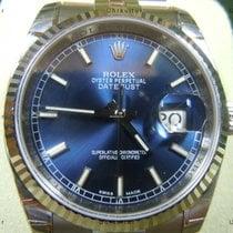 Rolex Datejust, Ref. 116234 - blau Index Zifferblatt/Jubileeband