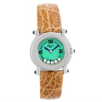 Chopard Happy Sport Green Mother Pearl Dial Diamond Watch...