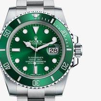 勞力士 (Rolex) [NEW] 116610LV Green Submariner (Retail:HK$68,100)