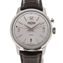 Vulcain 50s Presidents' Watch 42 Silver-toned Dial