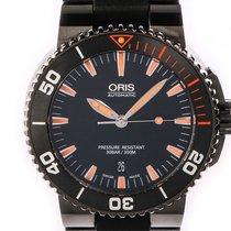 Oris Diving Aquis Date Stahl Keramik Kautschuk Armband...