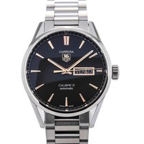TAG Heuer Carrera Day Date Automatic 41 Black Dial Red Gold...