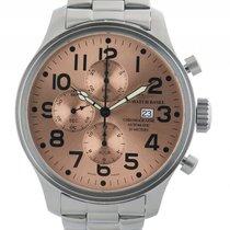 Zeno-Watch Basel Chronograph Stahl Automatik Armband Stahl...