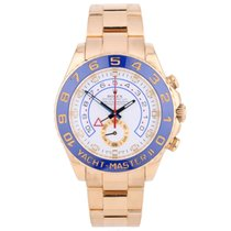 Rolex Pre-Owned 18ct Yellow Gold Yacht-Master II 116688...