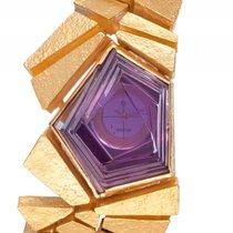 Omega Munsteiner Design Armbanduhr Amethist Violett 18kt...