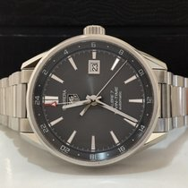 TAG Heuer Carrera Calibre 7 Twin-time 41mm Maio/2017 Completo...