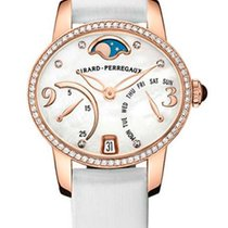 Girard Perregaux Cats Eye Bi-Retro 18K Rose Gold &...
