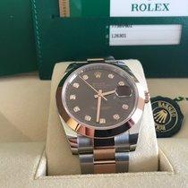 Rolex Datejust 41 Choco Diamant