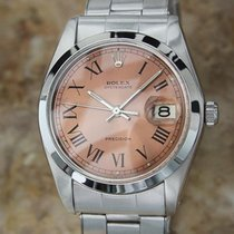 Rolex Oysterdate Precision 6694 Manual Stainless 1977 Swiss...