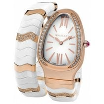 Bulgari Serpenti Spiga 35mm 18k Rose Gold