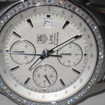 TAG Heuer Link Professional Automatic Chronograph Diamonds