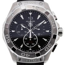 TAG Heuer Aquaracer 43 Quartz Black Dial