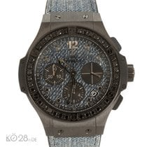 Hublot Big Bang JEANS Black Diamonds Unworn Papers 12/2016 D