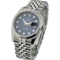 Rolex Unworn 116234 Datejust 36mm in Steel with Fluted Bezel -...