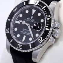 Rolex Submariner 116610 Date Ceramic Bezel Rubber B &...