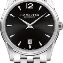 Hamilton Jazzmaster Slim H38515135 Elegante Herrenuhr Swiss Made