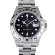 Rolex Oyster Perpetual Explorer II Automatic Watch 16570 bk...