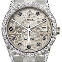 Rolex Datejust Men's 36mm Light Champagne Dial Stainless...
