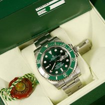 Ρολεξ (Rolex) Rolex Submariner green 116610LV (HULK) ceramic...
