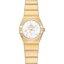 Omega 123.55.24.60.05.002 Constellation Ladies Mini in Yellow...