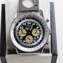 Breitling Navitimer Cosmonaute D22322 43mm 18k Gold &...