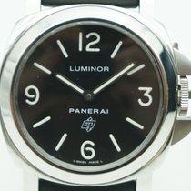 Panerai Luminor Base Logo  Q -2014  Stainless Steel and Rubber...