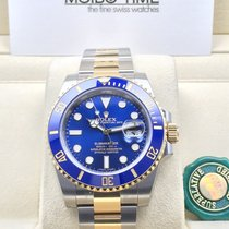 Rolex 116613LB Blue Gold Steel Ceramic Submariner Date