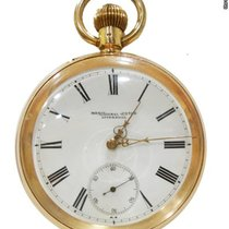 Meridional Watch Liverpool Vintage Pocket Watch in Gold 18Kt