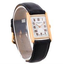 Vacheron Constantin Vintage 18k Rose Gold Mechanical Mens Watch
