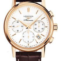 Longines Men's L27338722 Heritage Chronograph Watch