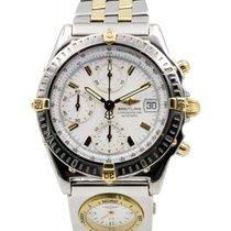 Μπρέιτλιγνκ  (Breitling) Chronomat B13352 White Index 18k...