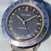 Bulova Accutron Astronaut Gmt 1967 Braccialato In Eccellenti...