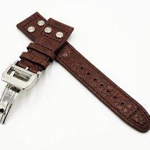 萬國 (IWC) (I012) New 22/18mm IWC Crocodile Leather Strap Big...