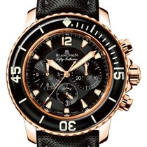 Blancpain Fifty Fathoms Flyback Chronograph 18K Rose Gold...