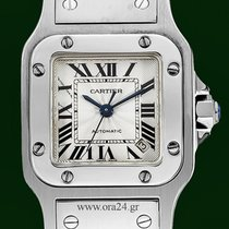Cartier Santos Galbee Automatic Roman Dial Box&Papers