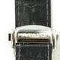 Hamilton Jazzmaster Lederband Admirally Leder schwarz 22/20mm...