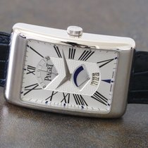 Piaget Tradition, Rectangle à l'Ancienne XL, white gold