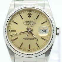 Rolex Automatik Oyster Date Just  Stahl