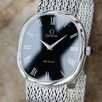 Omega Swiss Made Manual 925 Solid Silver 1970s Vintage Luxury...