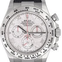 Rolex Cosmograph Daytona Men's White Gold Watch Meteorite...