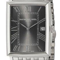 Raymond Weil Tradition Steel Mens Watch Grey Dial Calendar...