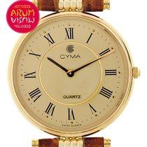Cyma Vintage 18K Gold