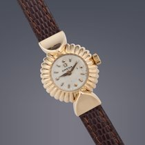 Omega ladies 18ct yellow gold Fancy manual dress watch